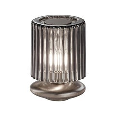 Vistosi Tread LT Table Lamp with Bronze Base by Chiaramonte