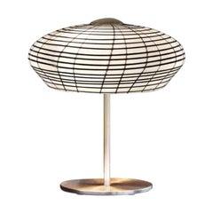 Vistosi Yuba Table Lamp in Black and White by Michele de Lucchi, 1982