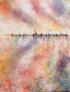 Embracing duality (diptych )  I ORIGINAL  abstract landscape painting