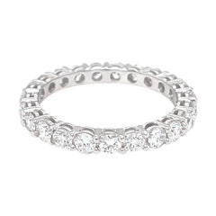 Vitale 1913 18 Karat White Gold Diamond Band Ring