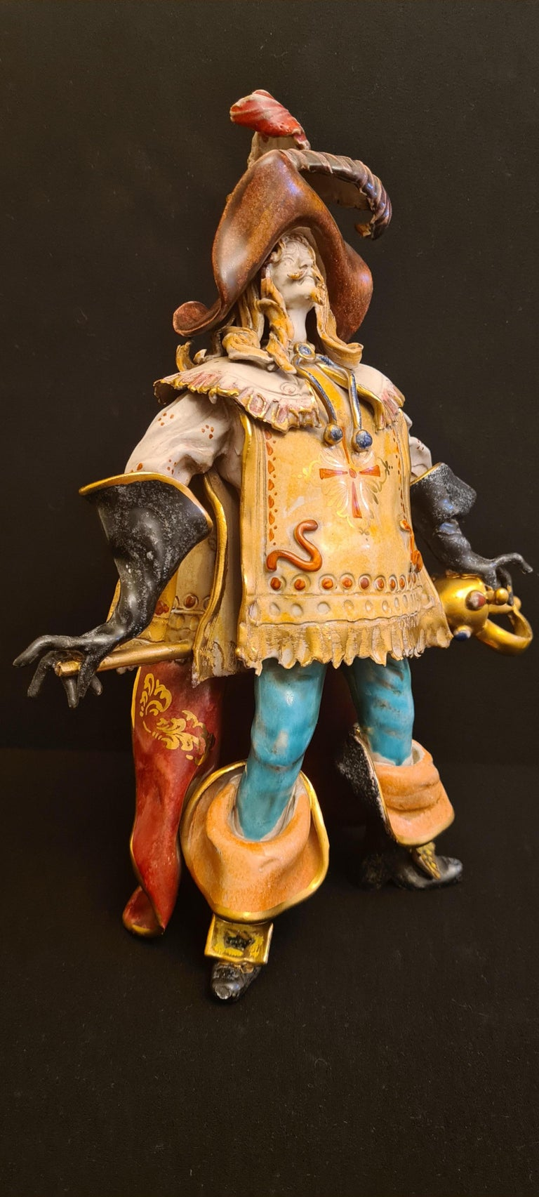 Vitange Italian Ceramic Sculptures Signed by Paolo Marioni For Sale 4