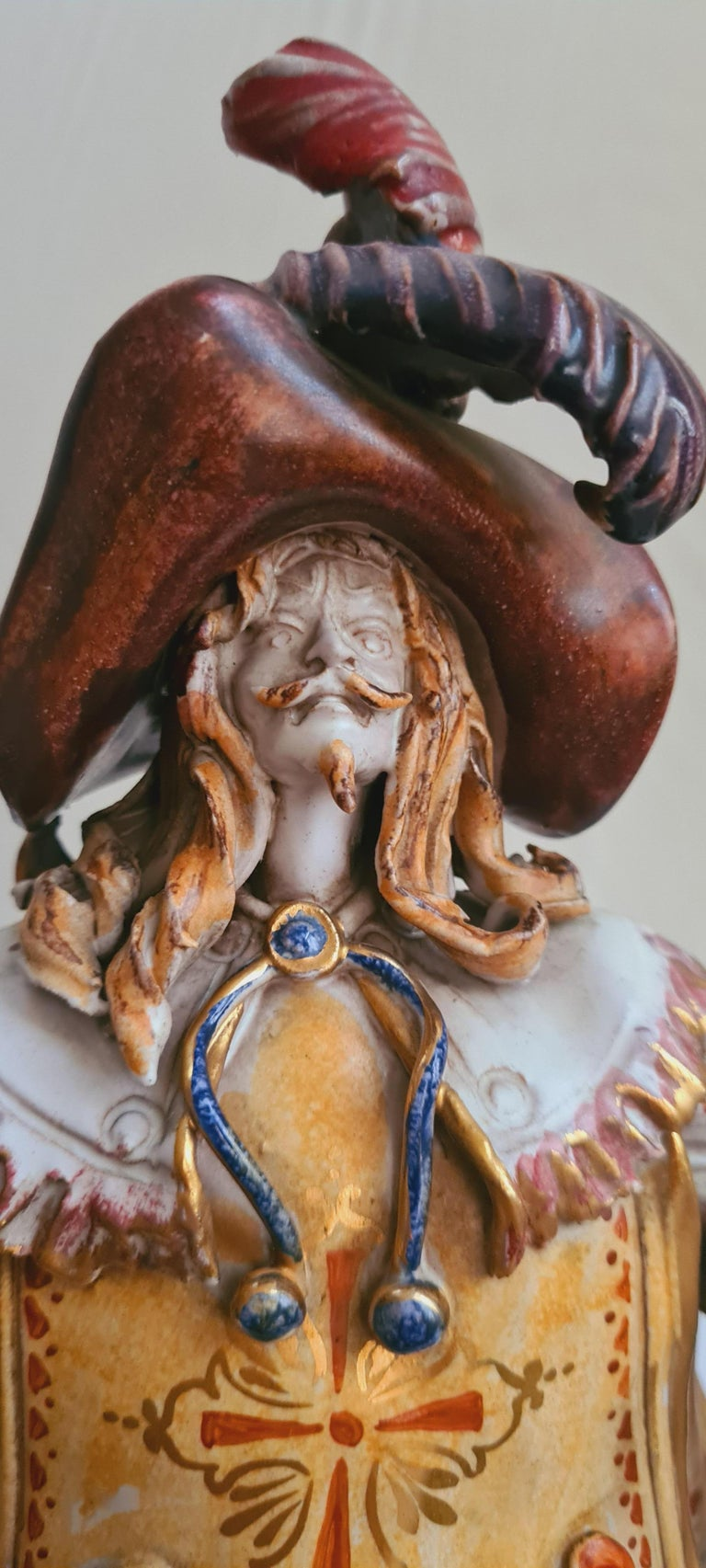 Other Vitange Italian Ceramic Sculptures Signed by Paolo Marioni For Sale