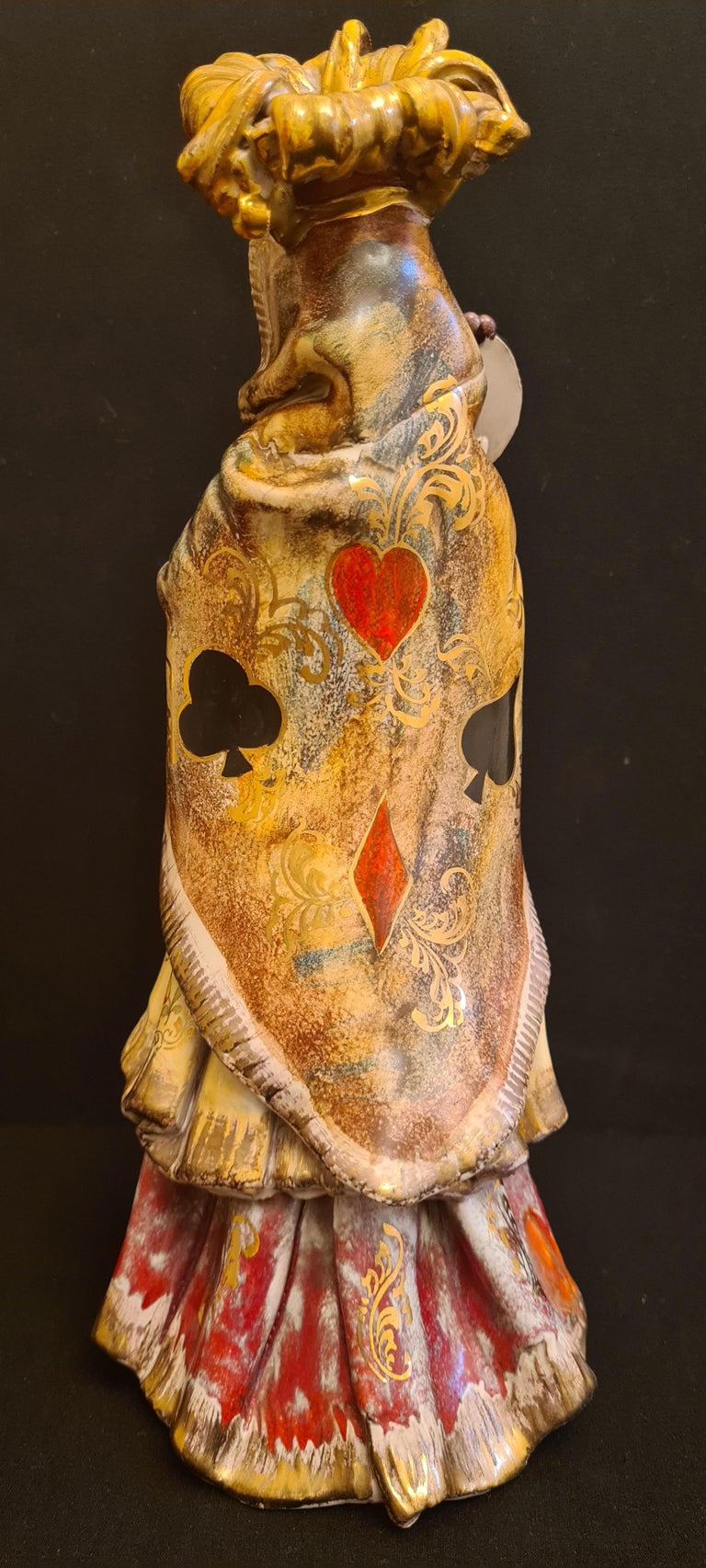 Vitange Italian Ceramic Sculptures Signed by Paolo Marioni For Sale 7