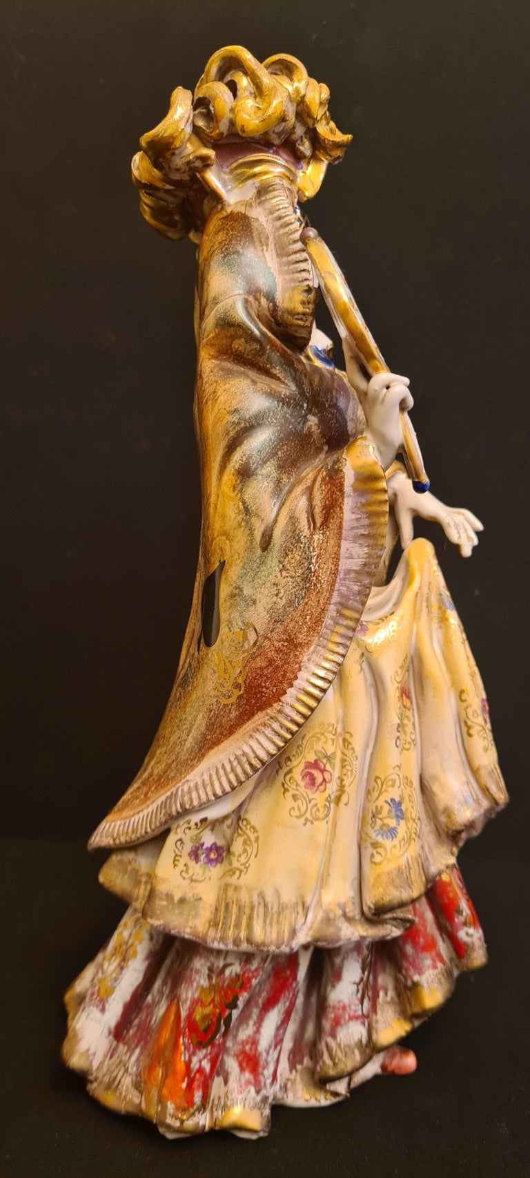 Vitange Italian Ceramic Sculptures Signed by Paolo Marioni For Sale 8