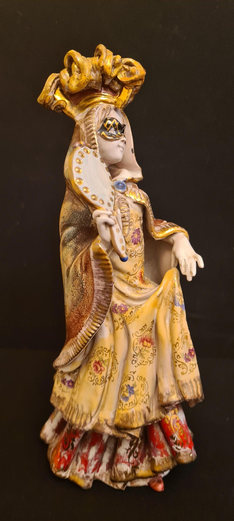 Vitange Italian Ceramic Sculptures Signed by Paolo Marioni For Sale 9
