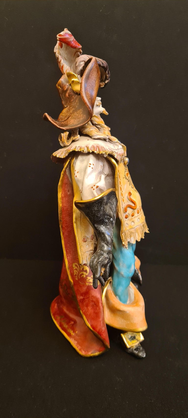 Vitange Italian Ceramic Sculptures Signed by Paolo Marioni For Sale 3