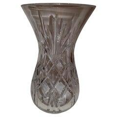 Vitange Large Italian Crystal Vase