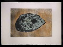 Asteroid - Original Lithograph by Vito Apuleo - 1970s