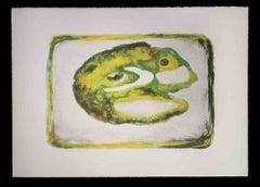 Cellula II - Original Lithograph by Vito Apuleo - 1970s