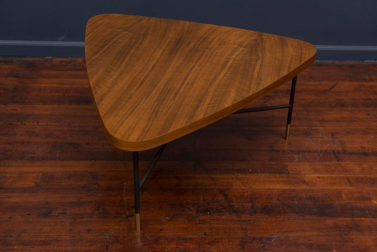 Italian Vito Latis Coffee Table for Singer & Son's For Sale