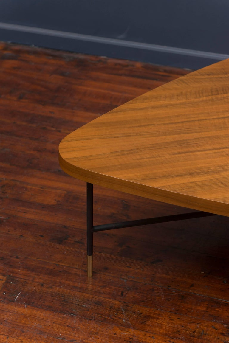 Walnut Vito Latis Coffee Table for Singer & Son's For Sale