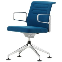 Vitra Ac 5 Meet Chair in Blue & Coconut Plano by Antonio Citterio