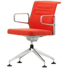 Vitra AC 5 Meet Chair in Orange Plano by Antonio Citterio