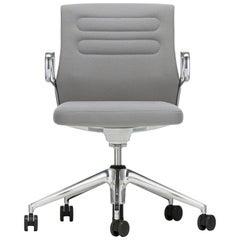 Vitra AC 5 Studio Chair in Light Gray & Sierra Gray Plano by Antonio Citterio