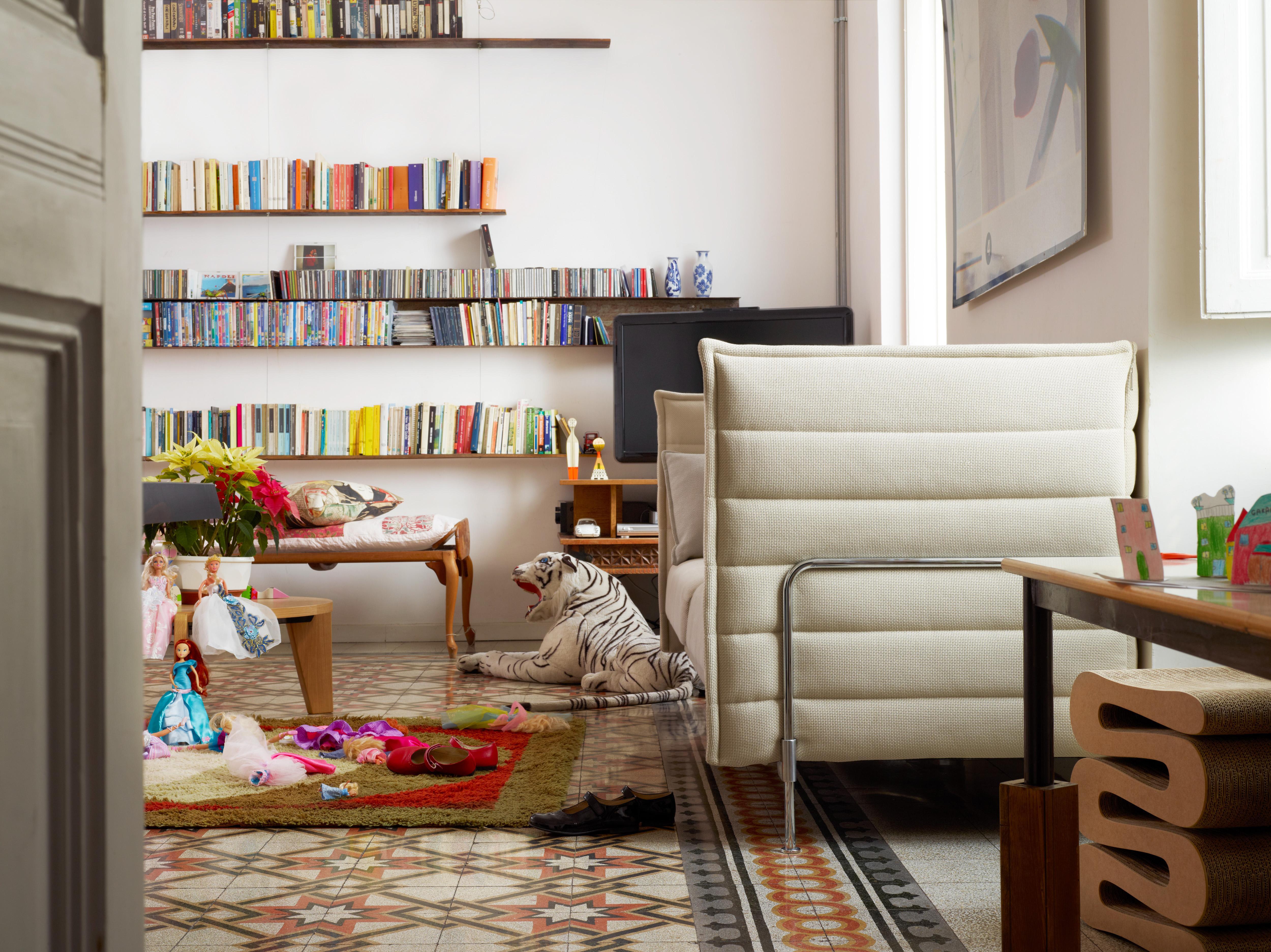 Vitra Alcove 2 Seater Sofa In Cream