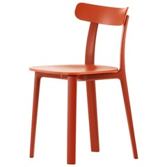Vitra All Plastic Chair in Brick Two-Tone by Jasper Morrison