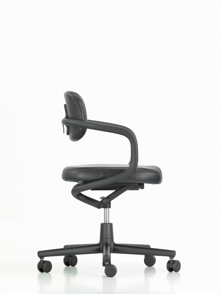 These items are only available in the United States.  The Allstar chair defines conventional categorizations: is it a chair for office workplaces or the home office? What period is it from? Does it fulfill specific functions? What is it made of? In