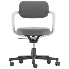 Vitra Allstar Chair in Dim Grey Leather by Konstantin Grcic