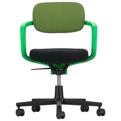Vitra Allstar Chair in Grass & Green Forest and Nero Hopsak by Konstantin Grcic
