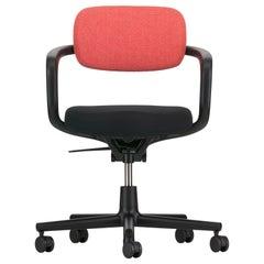 Vitra Allstar Chair in Poppy Red and Ivory Hopsak by Konstantin Grcic