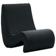 Vitra Amoebe Chair in Black by Verner Panton