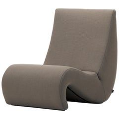 Vitra Amoebe Chair in Truffle by Verner Panton