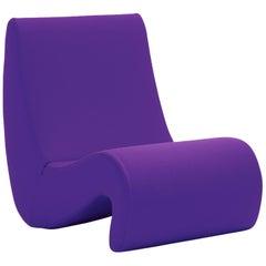 Vitra Amoebe Chair in Violet by Verner Panton