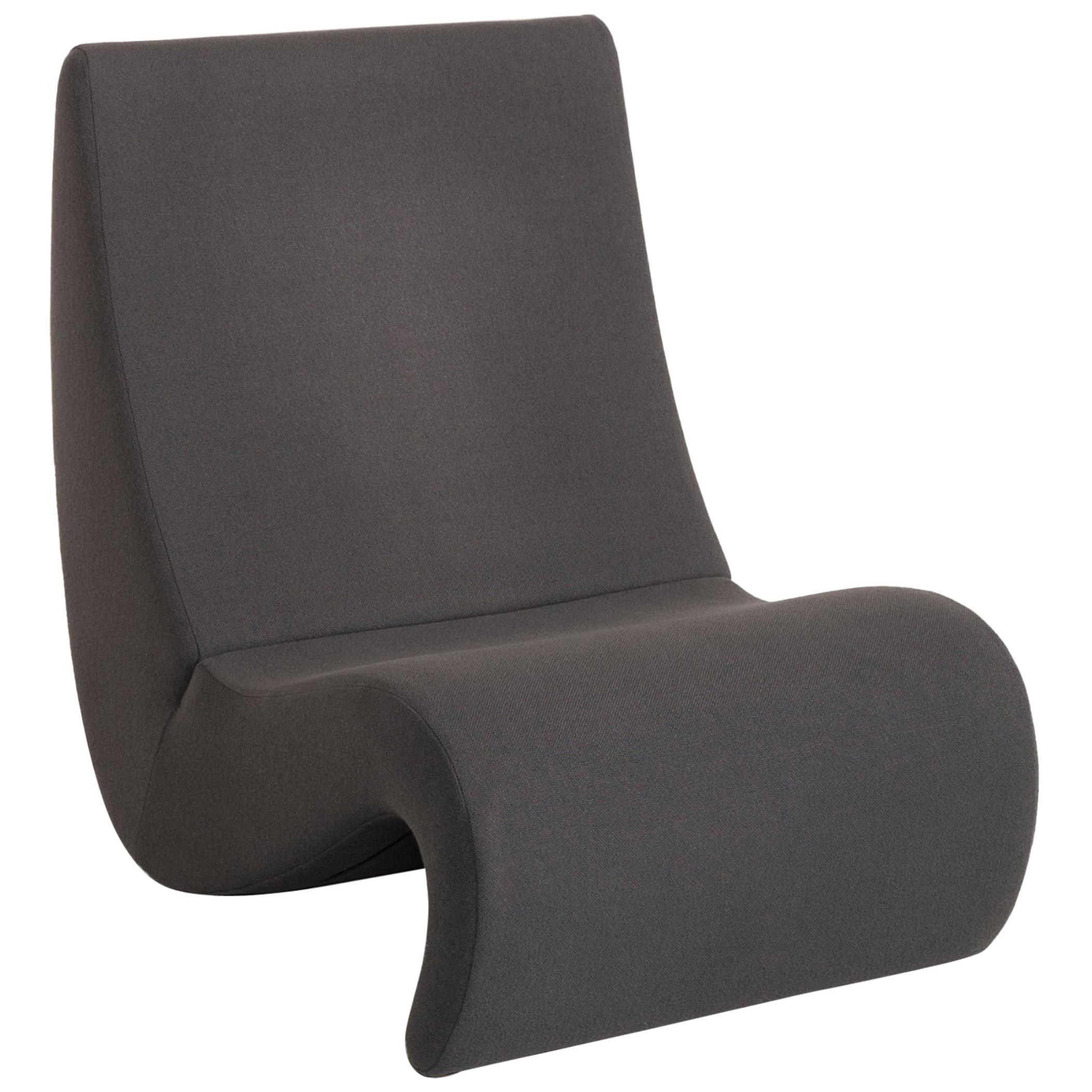 Vitra Amoebe Fabric Armchair Gray