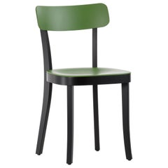 Vitra Basel Chair in Cactus with Black Beech Base by Jasper Morrison