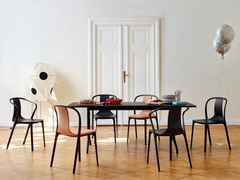 Vitra Belleville Armchair in Natural Oak by Ronan & Erwan Bouroullec For Sale 3