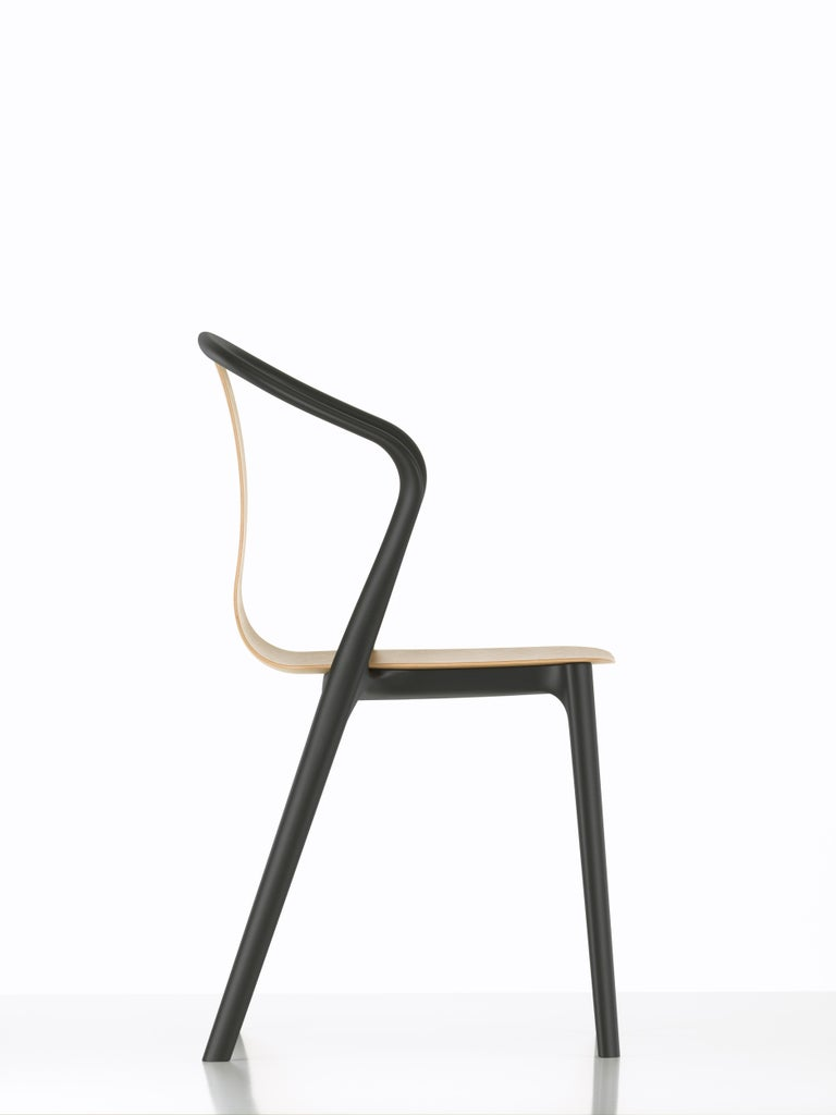 These products are only available in the United States.  Belleville is the name of the vibrant Paris neighborhood where the designers Ronan and Erwan Bouroullec have their studio. Visual references for the Belleville armchair can be found in the