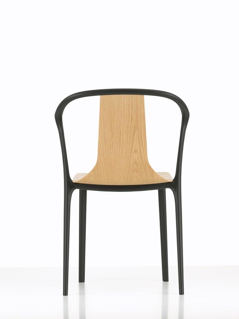 Modern Vitra Belleville Armchair in Natural Oak by Ronan & Erwan Bouroullec For Sale