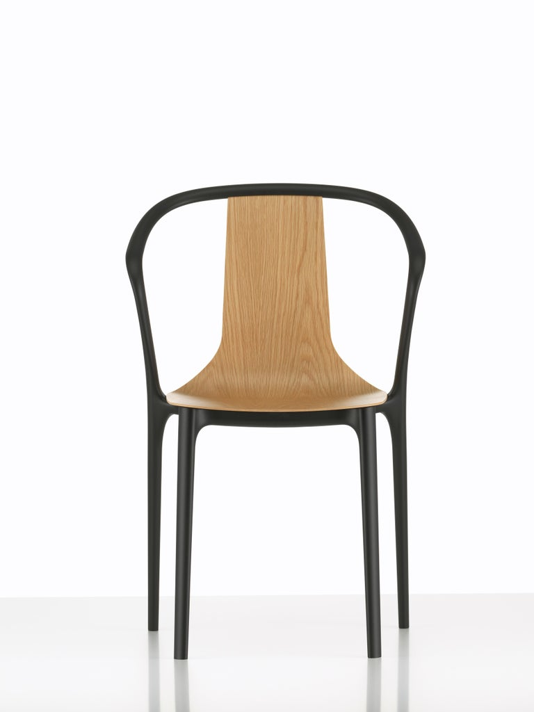 Vitra Belleville Armchair in Natural Oak by Ronan & Erwan Bouroullec In New Condition For Sale In New York, NY