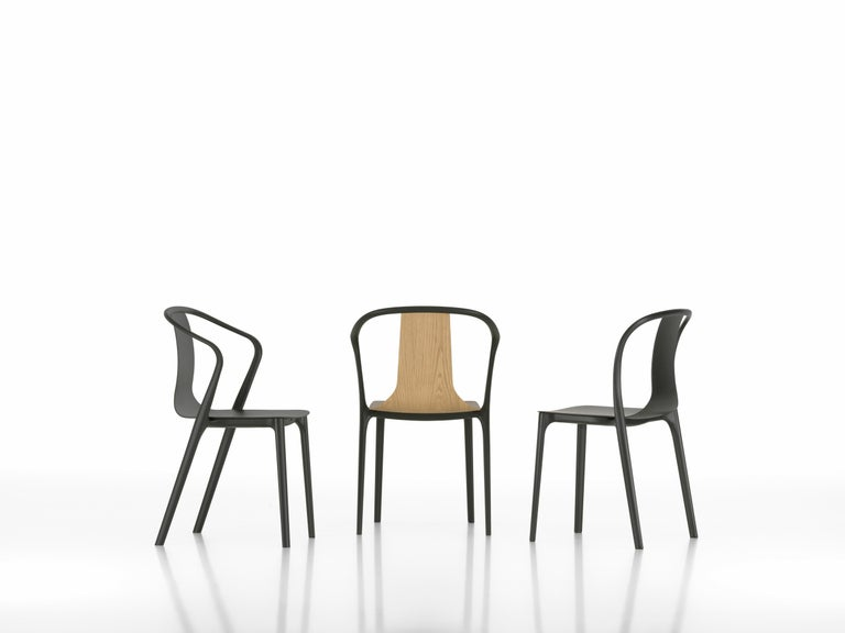 Contemporary Vitra Belleville Armchair in Natural Oak by Ronan & Erwan Bouroullec For Sale
