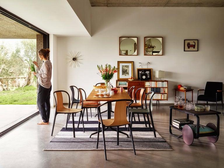 Vitra Belleville Armchair in Natural Oak by Ronan & Erwan Bouroullec For Sale 2