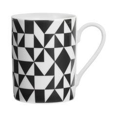 Limited Edition Vitra Coffee Mug in Geometric A Pattern by Alexander Girard