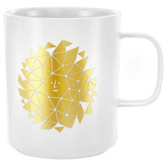 Vitra Coffee Mug in New Sun Motif by Alexander Girard