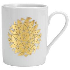 Vitra Coffee Mug with Gold New Sun by Alexander Girard - 1stdibs New York