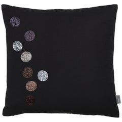 Vitra Dot Pillow in Black by Hella Jongerius