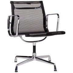 Vitra EA 108 Fabric Armchair Black