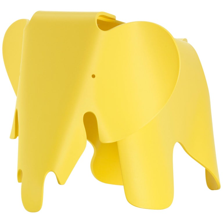 Vitra Eames Elephant in Buttercup by Charles & Ray Eames For Sale