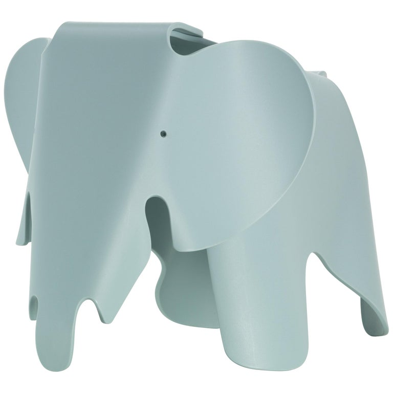 Vitra Eames Elephant in Ice Grey by Charles & Ray Eames For Sale
