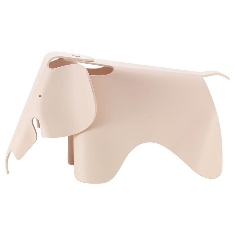 Vitra Eames Elephant in Pale Rose by Charles & Ray Eames For Sale