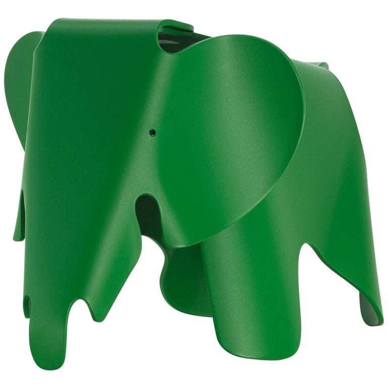 Vitra Eames Elephant in Palm Green by Charles & Ray Eames For Sale