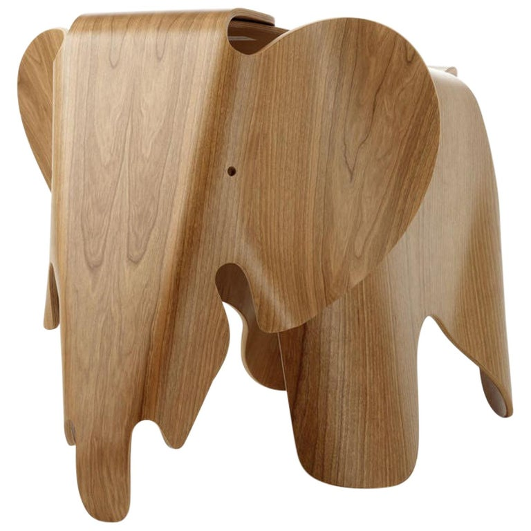 Vitra Eames Elephant in Plywood by Charles & Ray Eames For Sale