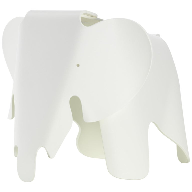 Vitra Eames Elephant in White by Charles & Ray Eames For Sale