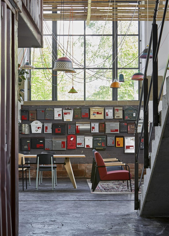 Vitra Fauteuil De Salon Armchair in Black by Jean Prouvé For Sale 3