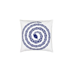 Vitra Snake Pillow by Alexander Girard, 1stdibs NY Gallery Showroom Sample