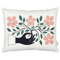 Vitra Graphic Print Pillow with Hand by Alexander Girard - 1stdibs NY