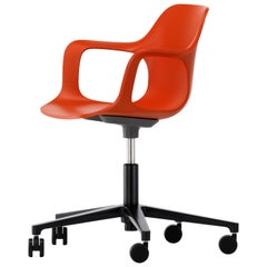 Vitra HAL Armchair Studio in Orange by Jasper Morrison